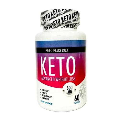 Keto Plus Diet Original Advanced Weight Loss 60 / 800 MG Induccion  a Cetosis Avanzada