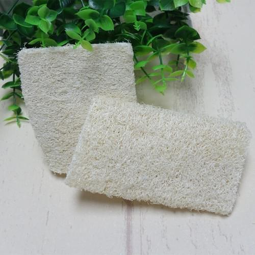 Luffa Kitchen Sponge Eco Friendly Kitchen Scrub. Pack with 10 Pieces