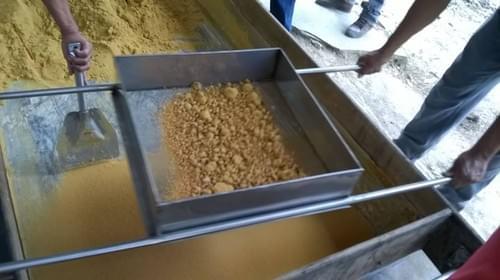 Granulated Piloncillo Dark Brown 100% Cane Juice Terron Grain Kosher Certified sold by case 25 lbs