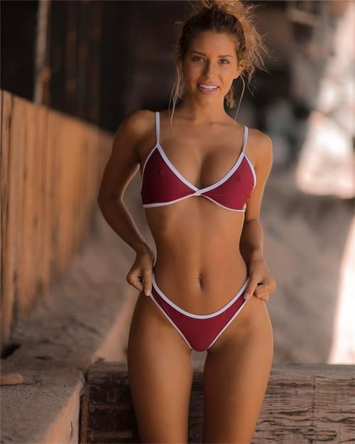 Brazilian Bikini Multi-color Swimwear Sexy 2019 Set