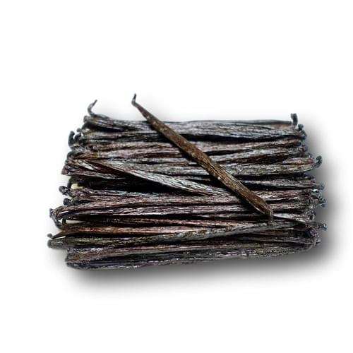 Mexican Vanilla Planifolia Pods Grade A (Gourmet) Length: 7-8 inches (18cm - 20 cm)