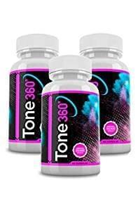 Tone 360 Original formula demoledora de grasa y generador de músculo 60 Comprimidos Promo 2x1