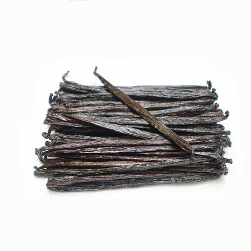 Mexican Vanilla Planifolia Pods Grade B (Extract) Length: 3-5 inches (7cm -9cm)