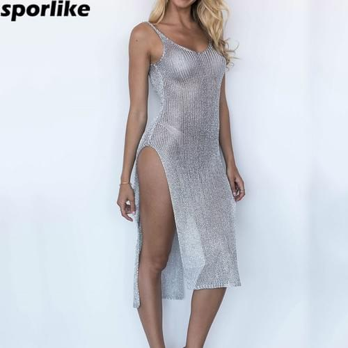 Sexy Bikini Beach Cover-up Brazilian Bathing Suit Set