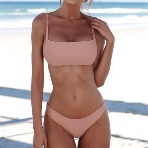 2019 New Push Up Bikini Sexy Swimwear Women Set