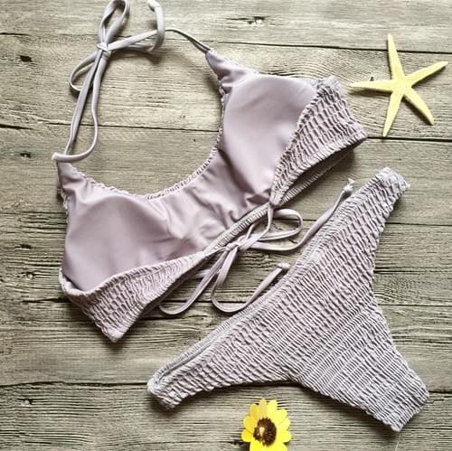 Brazilian 2019 Bikini Beach Swimwear Set