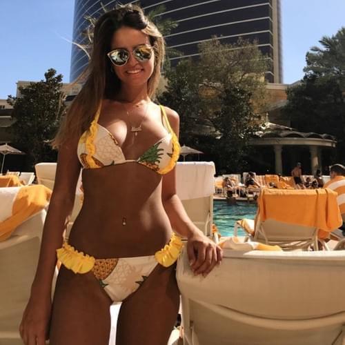 Brazilian Sexy Swimwear Beach Body Girl Set
