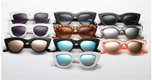 Cat Eye Sunglasses Tinted Color Lens Vintage Shaped