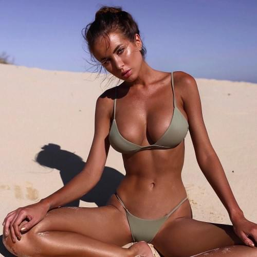 Brazilian Sexy Bikini Beach Body Girl Body Set