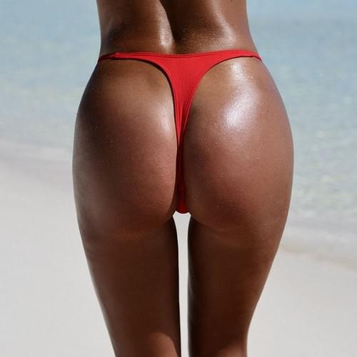 Sexy Tiny Brazilian Bikini Bottom G-string Briefs 2019