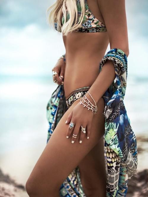 Brazilian Bikini Push-up Swimwear Padded Bra Set