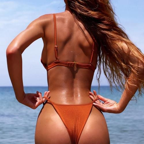 Brazilian Sexy Beach Body Bikini Girl 2019 Set