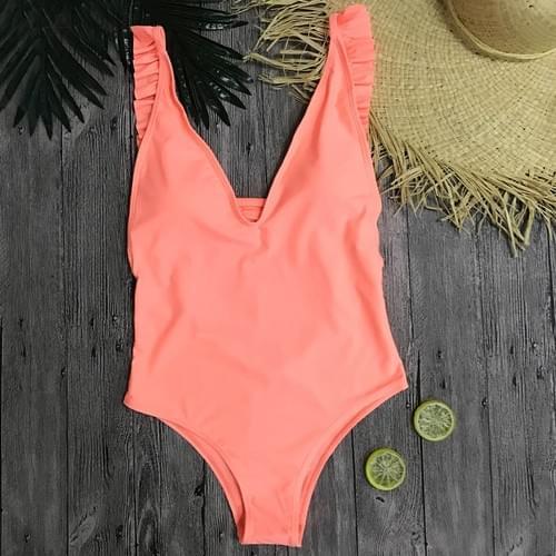 Sexy One Piece Women 2019 Summer Beachwear