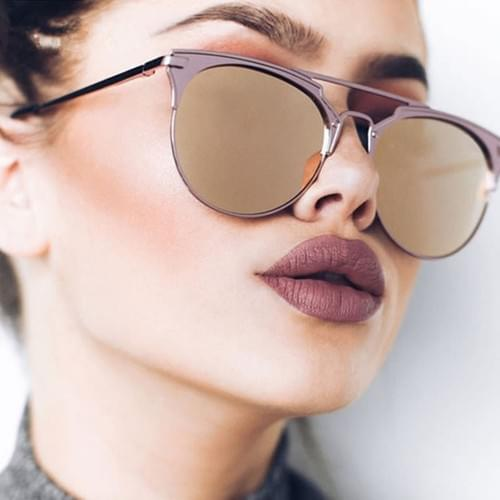 Luxury Vintage Round Sunglasses Women Brand Designer 2019