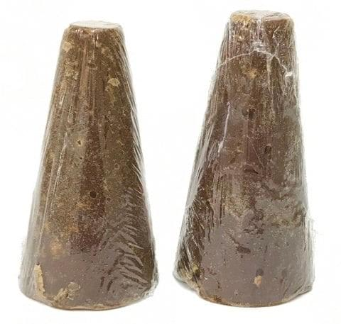 Piloncillo - Panela Dark Brown Color 100%  Sugarcane Juice Cone #4, 28 lbs Case with 56 Pieces
