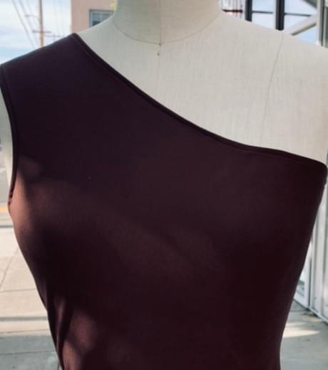 Gina Liz One Shoulder Style (Sepia)