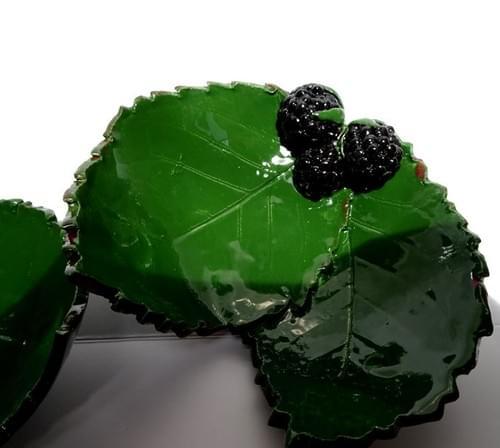 Blackberry dish