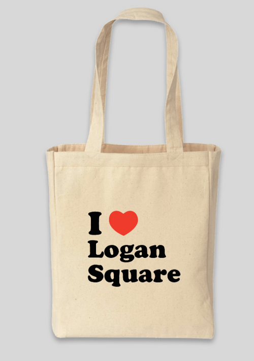 Tote Bag - I Heart Logan Square