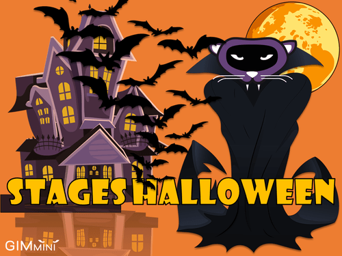 Mardi 26, jeudi 28, vendredi 29 et dimanche 31 octobre : Stages Halloween