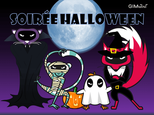 Samedi 30 octobre : Soirée Halloween