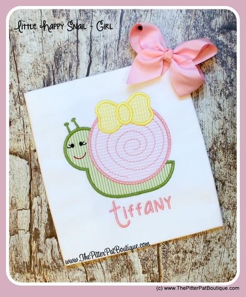 Little Happy Snails - Boy/Girl