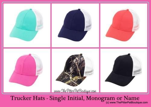 Personalized Trucker Hat