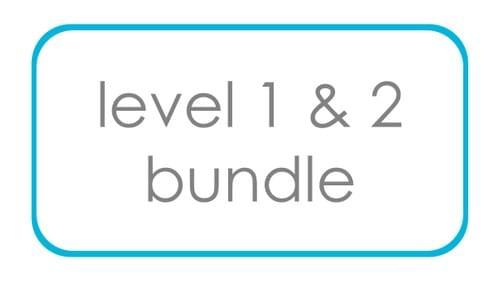 Level 1 & Level 2 Bundle - Save $50!