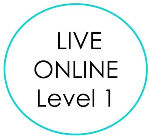 LIVE ONLINE Level 1