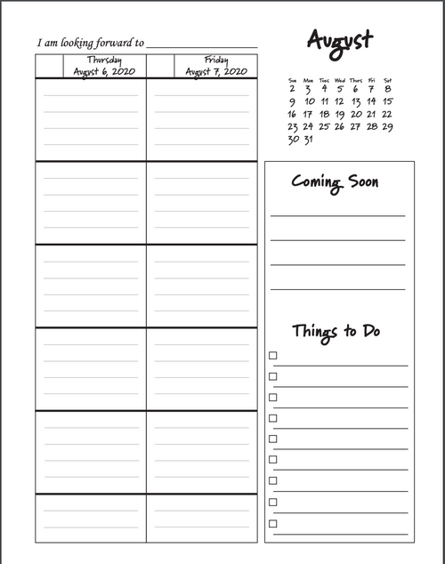 Intentional Educator PRINTABLE Teacher Planners for 2020--2021 (5-Period Layout)