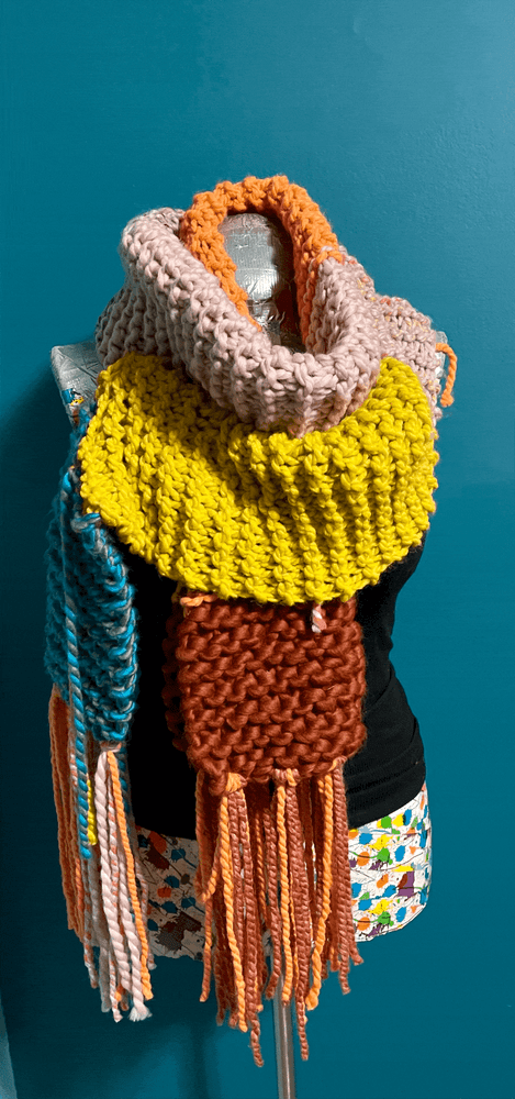 Supa Remnant Scarf