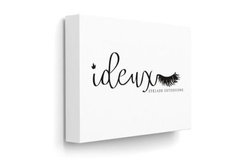 """iDeux Signature Canvas Print 8 X 12"""""""