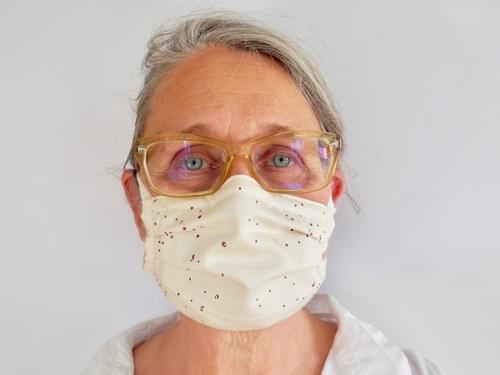 Maske aus Bio-Baumwolle