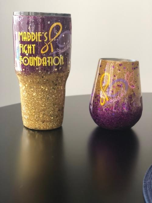 New!!  Custom Tumblers and Wine Goblets