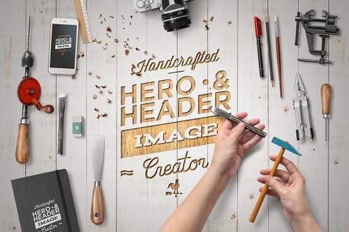 Hero Image Scene Creator