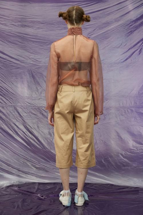 2018A/W CROPPED TROUSERS