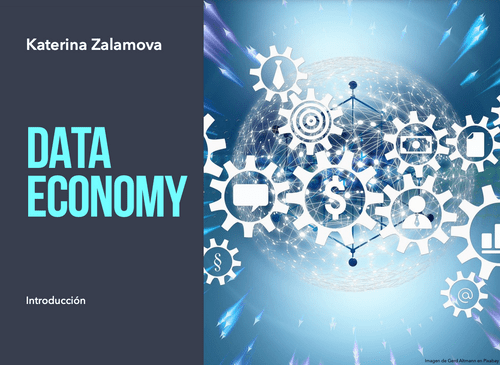 Book: Data Economy- Intorduction