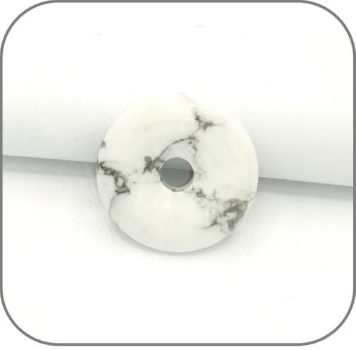 Pendentif Donut Howlite