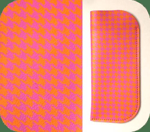 Étuis Orange et rose - 4 motifs