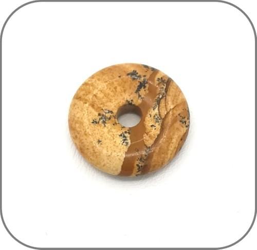 Pendentif Donut Jaspe Paysage