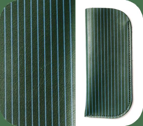 Étuis Vert foncé - 4 motifs