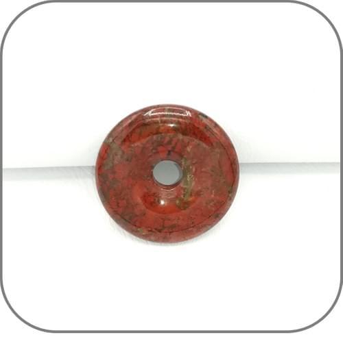 Pendentif Donut Jaspe Orbiculaire - 4 Modèles uniques