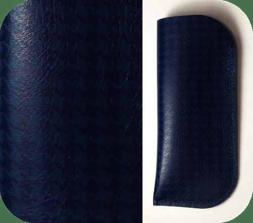 Étuis Bleu foncé - 3 motifs