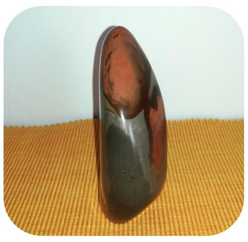 Pierre décorative en Jaspe Mokaite - Motif Cœur