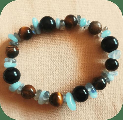 Bracelet - Protection (variante Amazonite)
