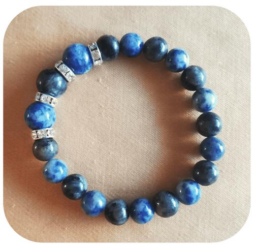 Bijoux - Parure Maîtrise de Soi (Bracelet, boucles d'oreilles, pendentifs)