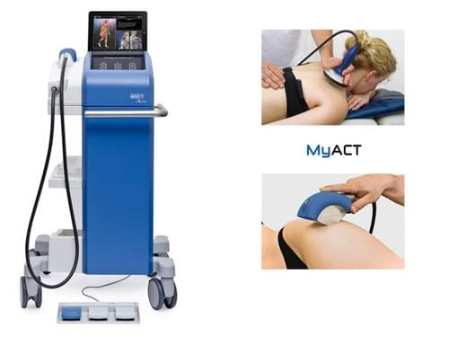 Piezo Wave 2 MyACT MyoFascial Acoustic Compression Therapy (ShockWave)