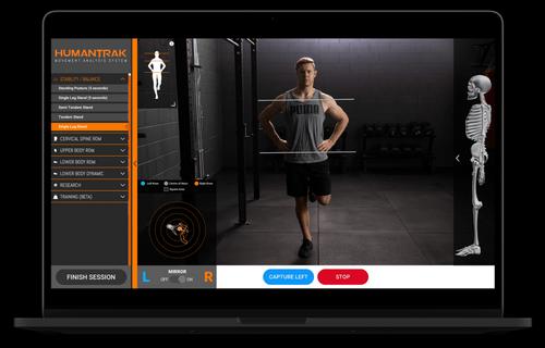 HumanTrak 3D Motion Capture & Biomechanical Analysis