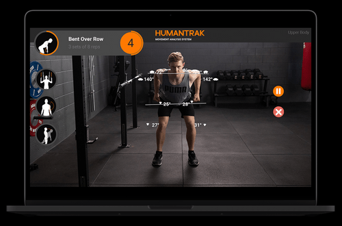 HumanTrak 3D Motion Capture & Biomechanical Analysis