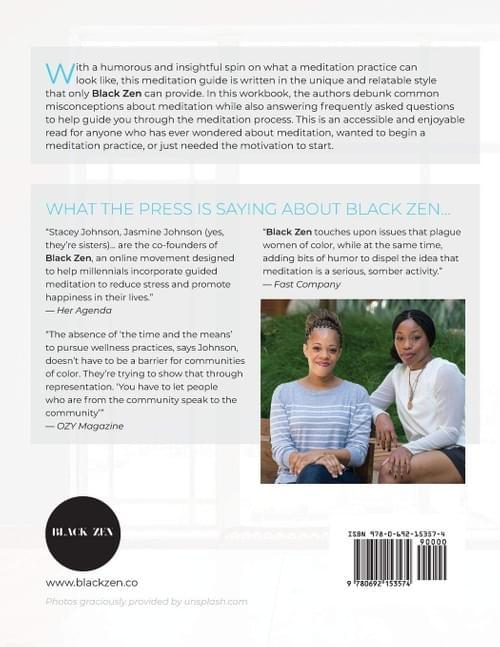 BLACK ZEN'S GUIDE TO MEDITATION W/ CALENDAR & PROGRESS TRACKER