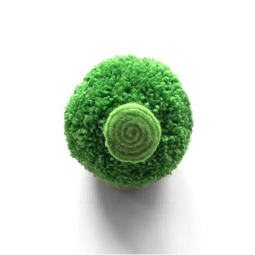 花椰菜鑰匙圈-純綠色